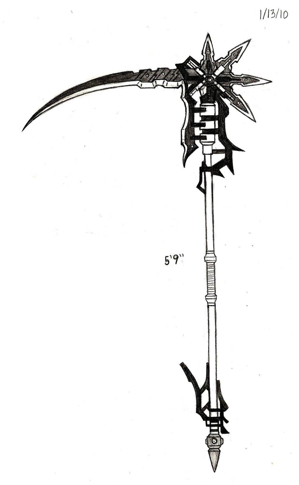 Drawn scythe tribal View flamestar1315 topic Scythe Chicken