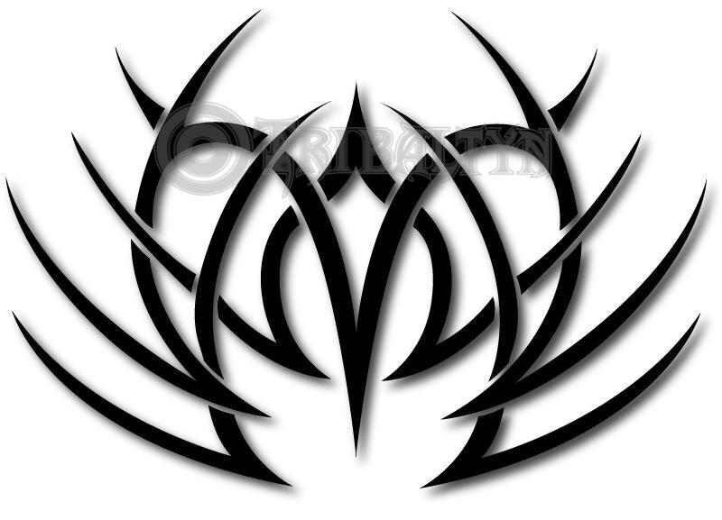 Drawn scythe tribal Collection Heart by on Scythe