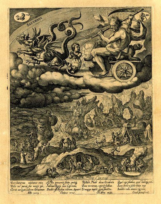 Drawn scythe two Dragons scythe two Saturn a
