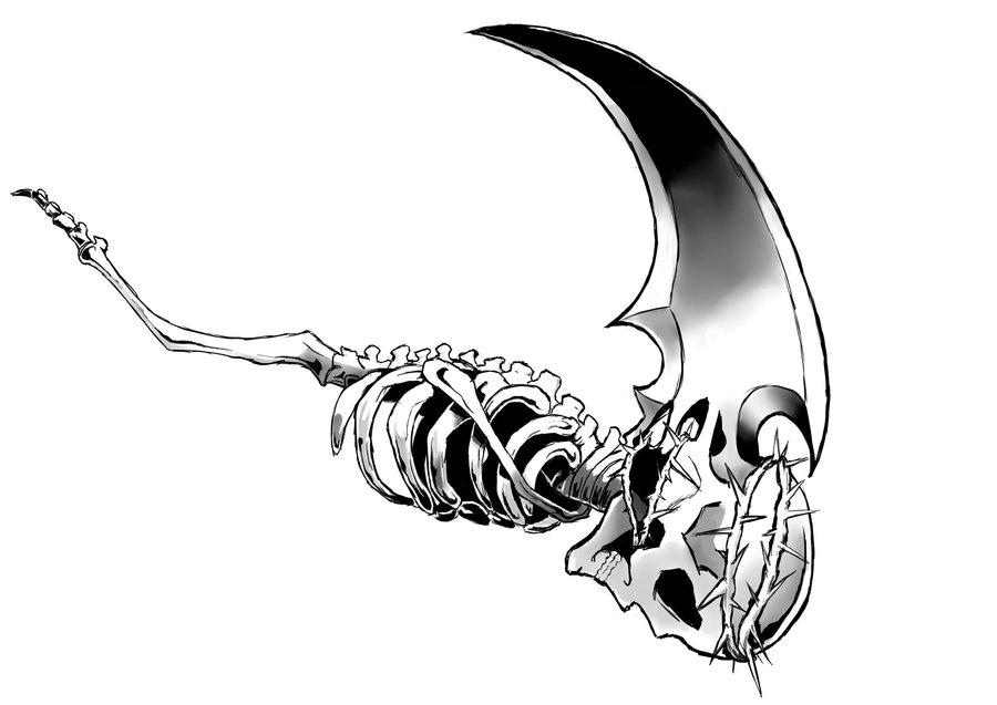 Drawn scythe undertaker  Scythe Undertaker's Loweena by