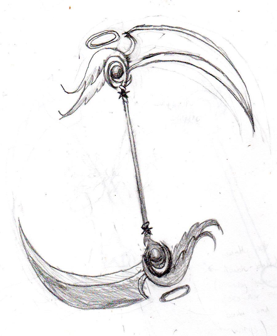 Drawn scythe water Scythe Yang for Yin using