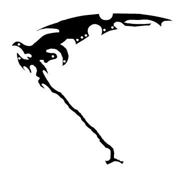 Drawn scythe wicked DeviantArt on by Scythe ScissorWound
