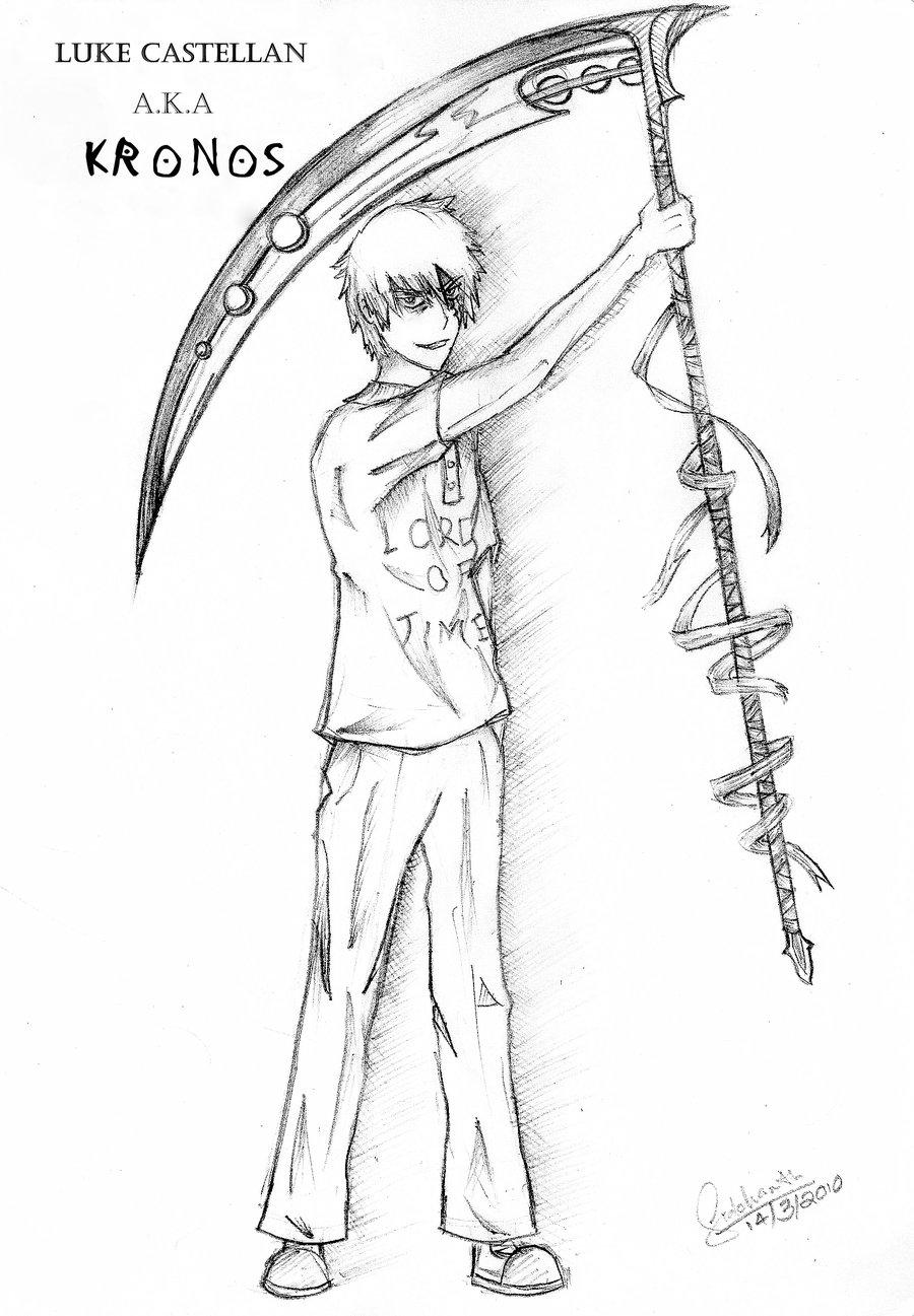 Drawn scythe wicked AKA Castellan AKA by Deadbydusk