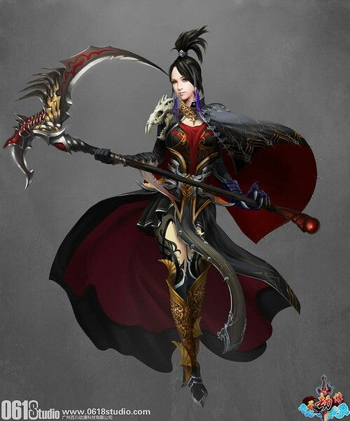 Drawn scythe wicked On images best a scythe