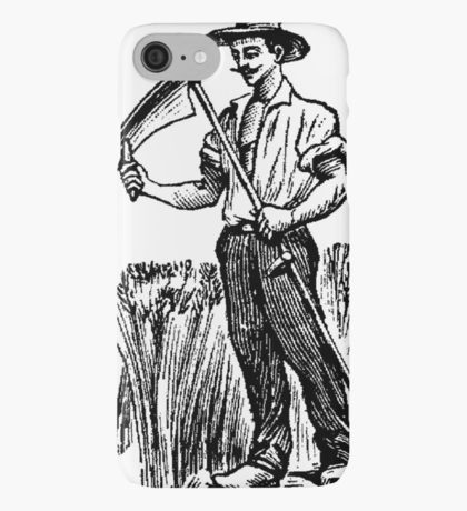 Drawn scythe wind For Skins iPhone Case/Skin Plus