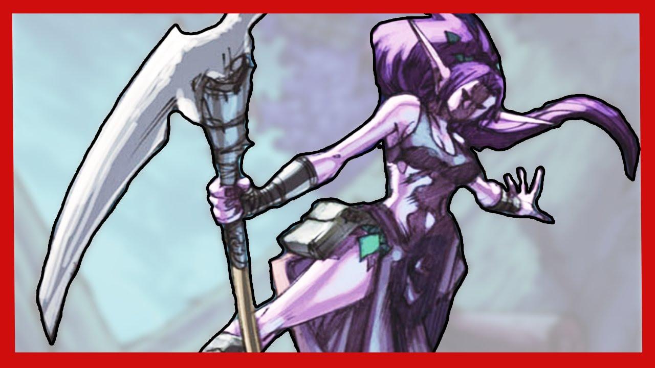 Drawn scythe wow Of YouTube of Warcraft Scythe