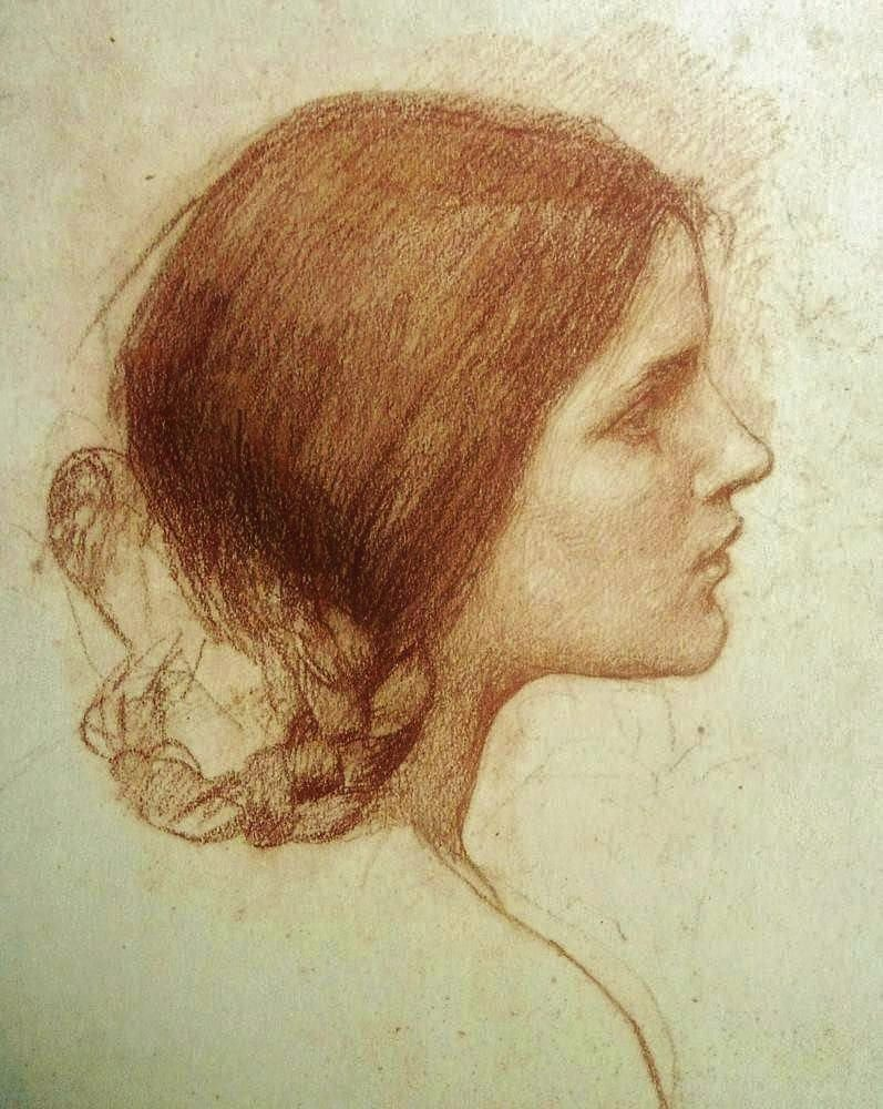 Drawn sea john williams Girl (chalk) Girl Head (chalk)