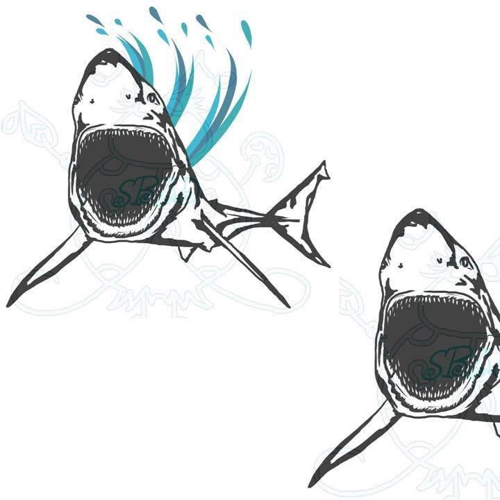 Drawn sea life hammer Clip Drawn Art animal white