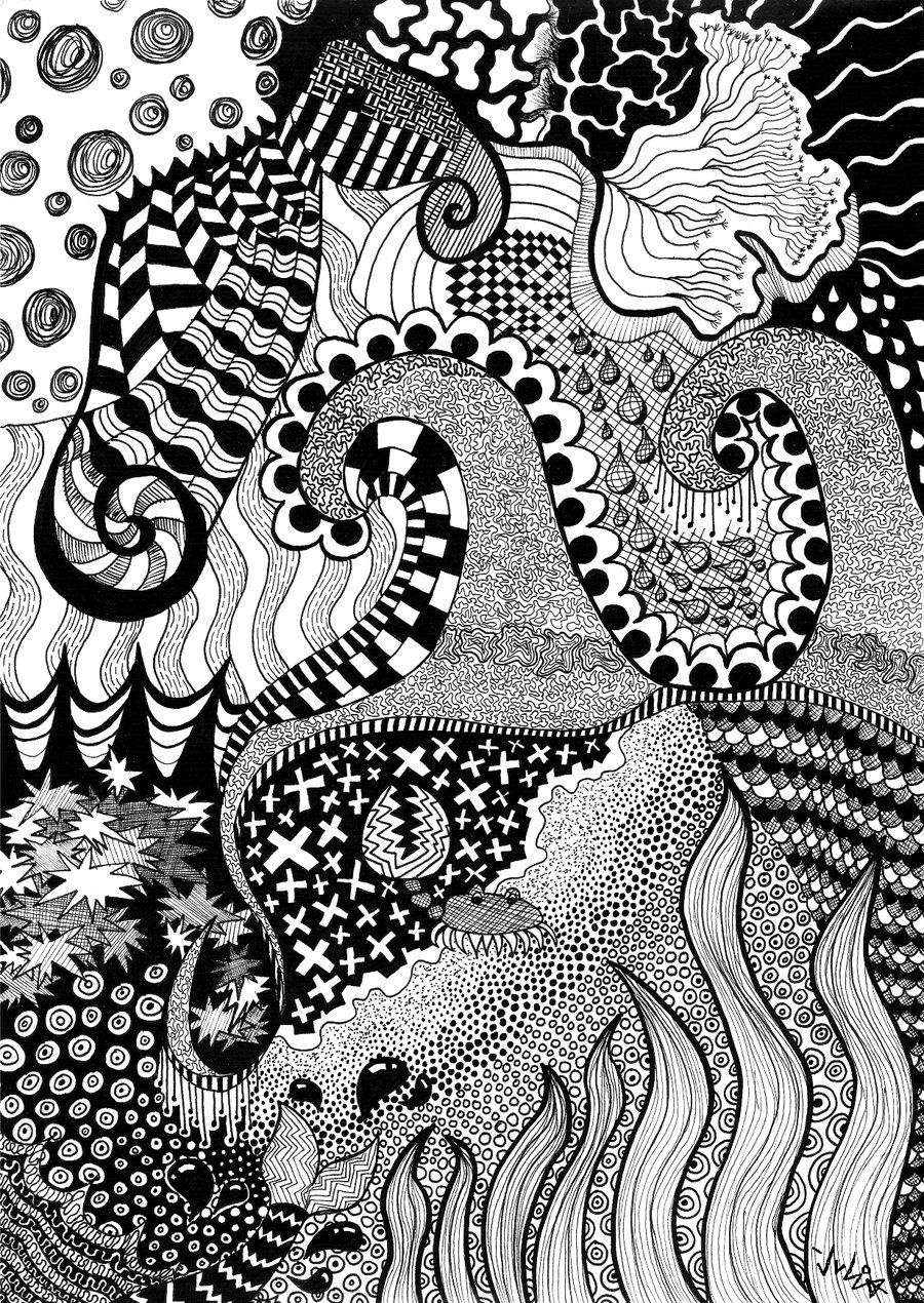 Drawn sea life sea life KiwiCocktail by Life Life KiwiCocktail