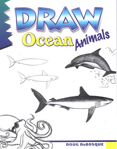 Drawn sea ocean creature KidsArt  Ocean Draw com