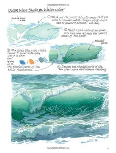 Drawn sea painted Find Pin on How
