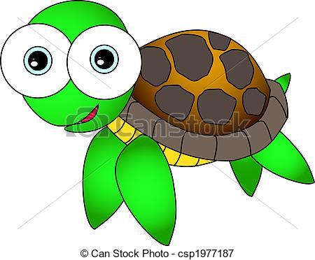 Sea Turtle clipart adorable cartoon #4