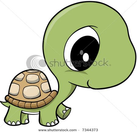 Sea Turtle clipart adorable cartoon #3