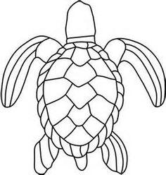 Drawn sea turtle fused glass Of Sea Yahoo Patterns use