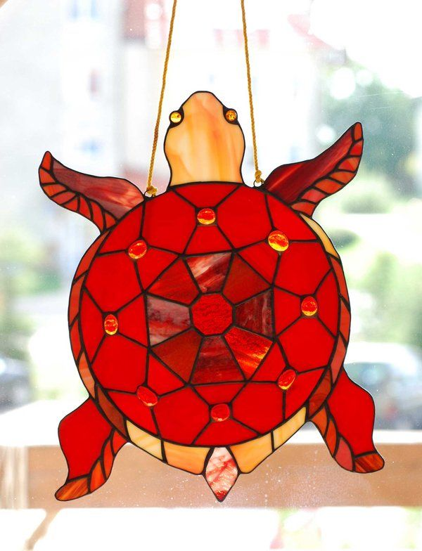Drawn sea turtle fused glass Frogs Find on more images