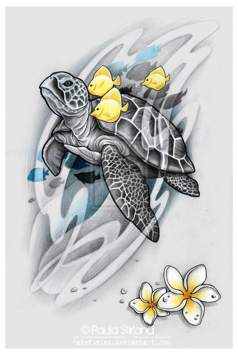 Drawn sea turtle japanese turtle Com Sea hatefueled hatefueled Sea