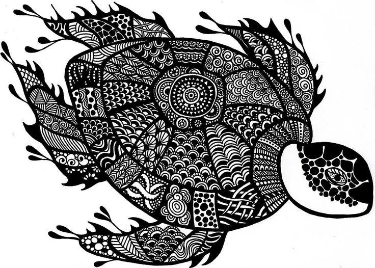 Drawn sea turtle japanese turtle Is my Urashima from