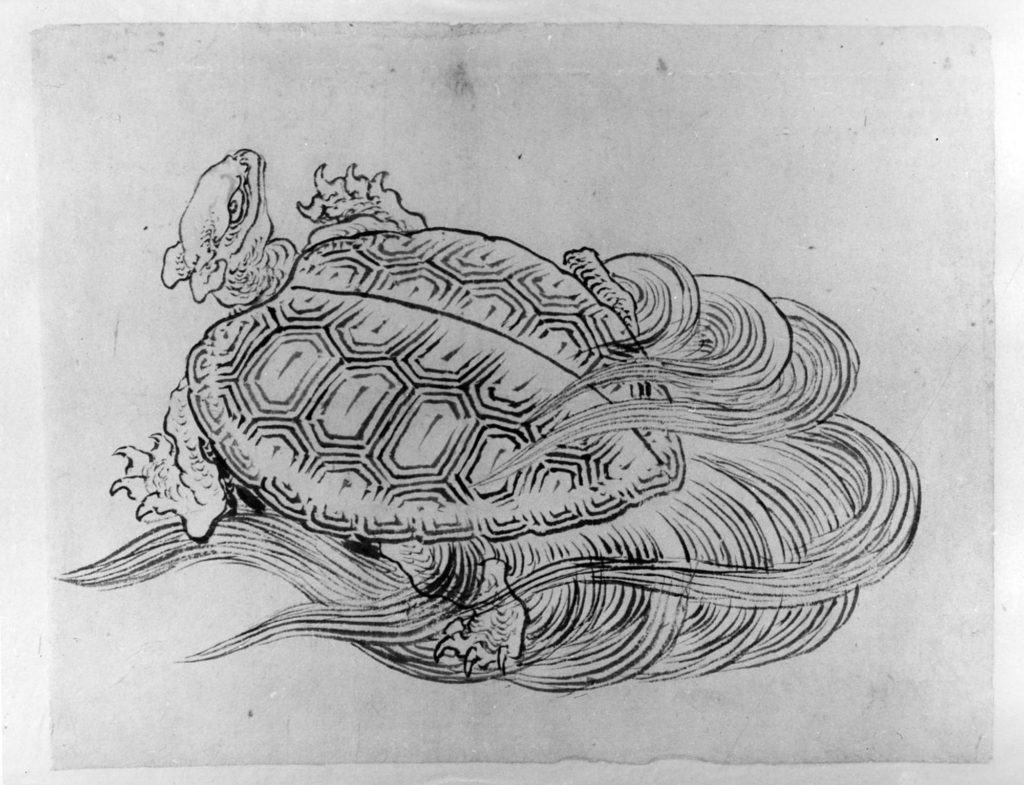 Drawn sea turtle japanese turtle Motifs Japanese Tattoo Motifs 56_121_2_162292