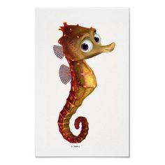 Drawn seahorse baby Nemo seahorse the the