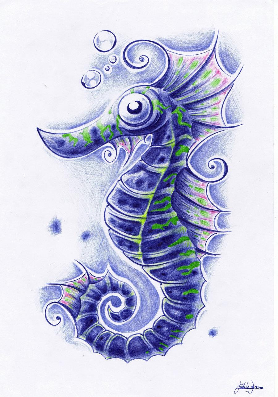 Drawn seahorse deviantart Widenius widenius DeviantArt by by