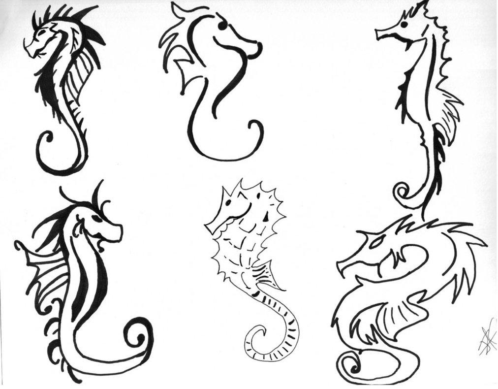 Drawn seahorse dragon Seahorse Miraniel Seahorse on Miraniel