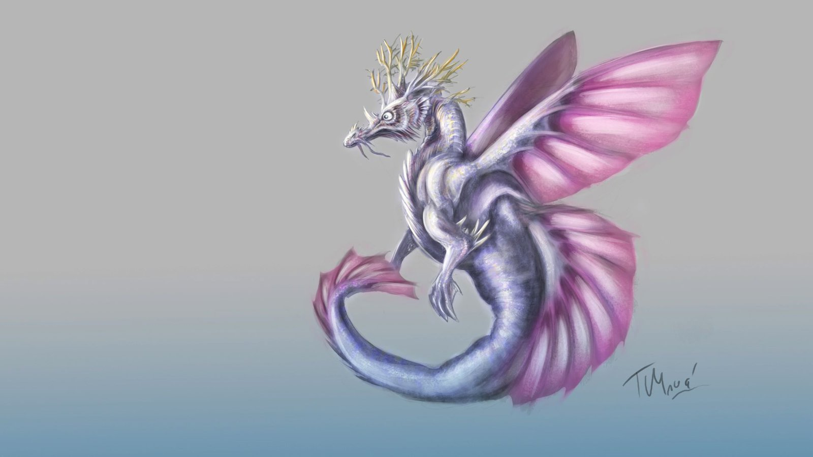 Drawn seahorse dragon ArtKitt ArtKitt Dragon on Creations