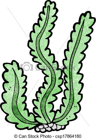 Drawn seaweed clipart Search Vector seaweed Clip Art