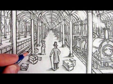 Drawn railroad draw One Draw  a Point