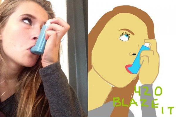 Drawn selfie Improved  undefined Selfies by