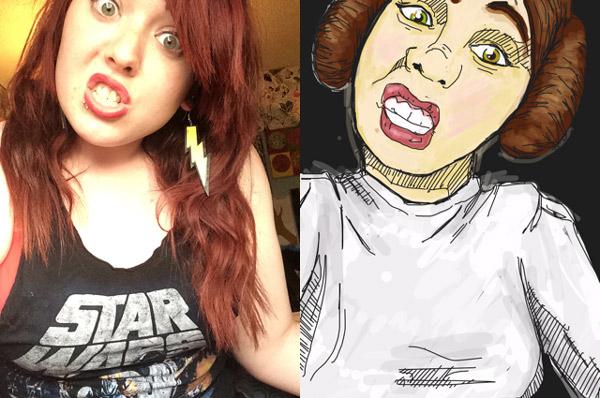 Drawn selfie Draw princess selfie My App