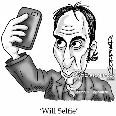Drawn selfie funny cartoon CartoonStock Comics cartoon from picture