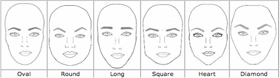 Drawn selfie head shape According Shape Select Face Eyebrow