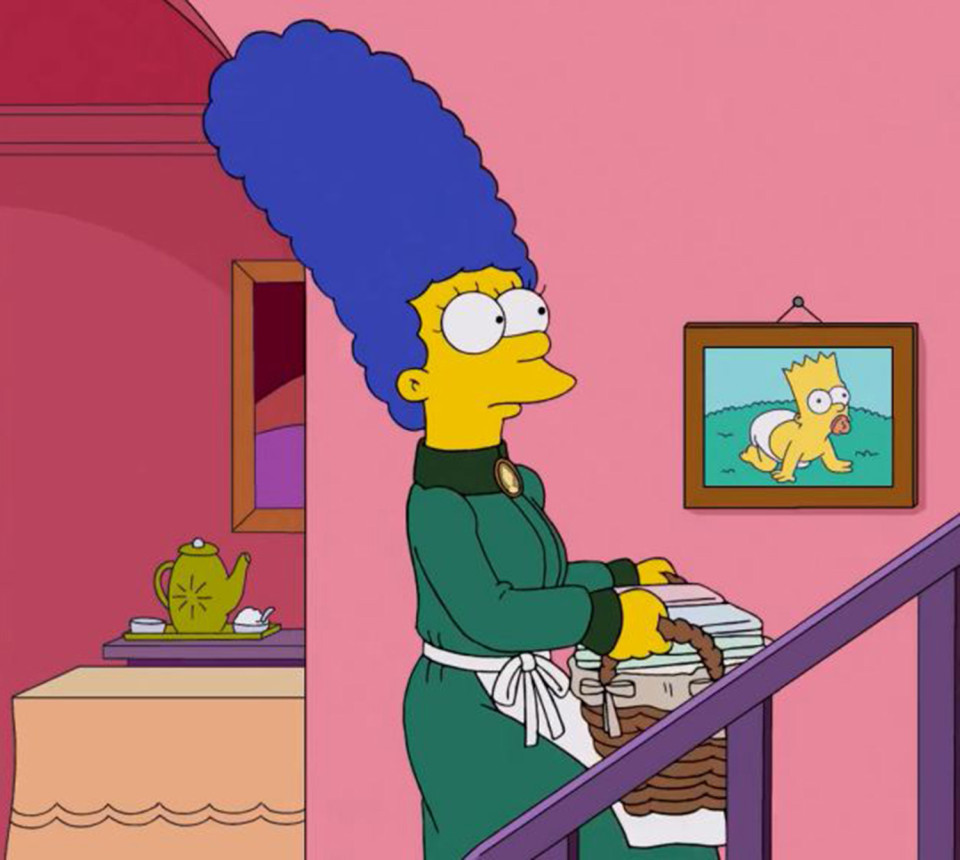 Drawn selfie marge simpson Mysteriously lips to sports way