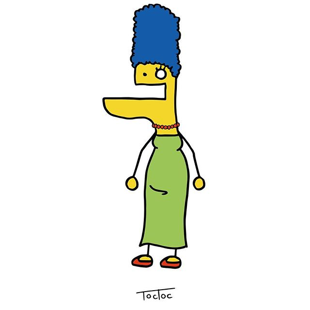 Drawn selfie marge simpson Marge marge Simpson 072 on