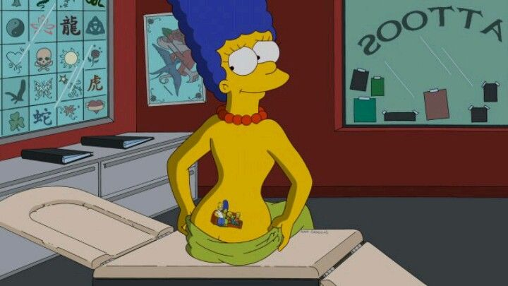 Drawn selfie marge simpson ) Simpson The ever Simpson