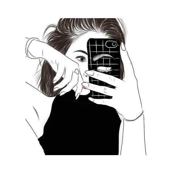 Drawn selfie photography Images 79 Pin Drawing more