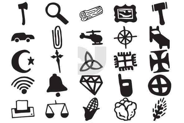 Drawn shapes Drawn and Shapes Graphics Icons
