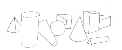 Drawn shapes geometric shape Easy Shape geometric Kfc Shape