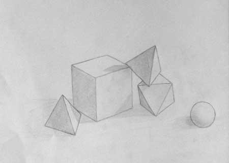 Drawn shapes geometric shape  Geometric Drawing Shape