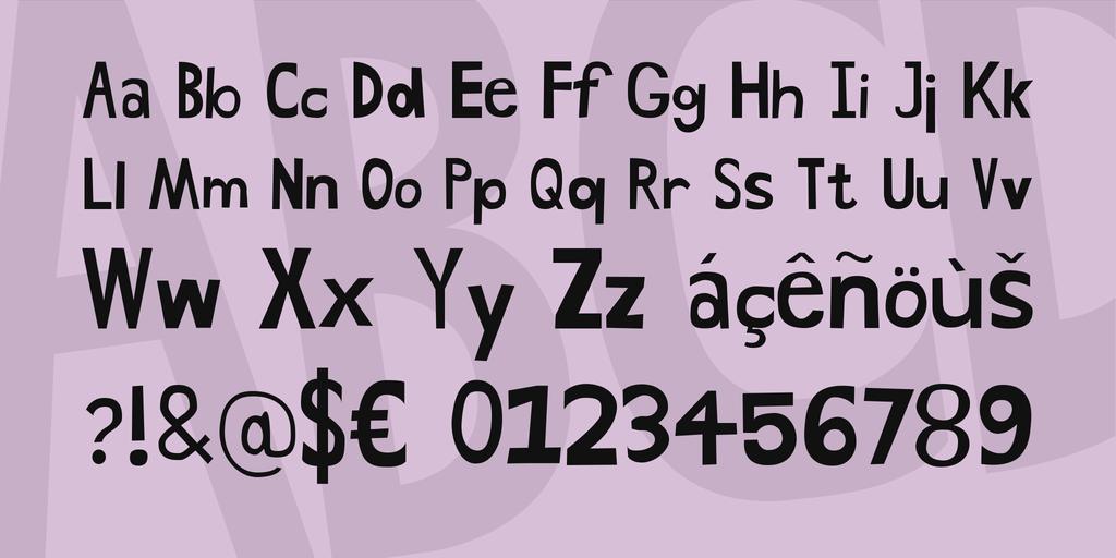 Drawn shapes hand drawn ·  Font Fonts Hand