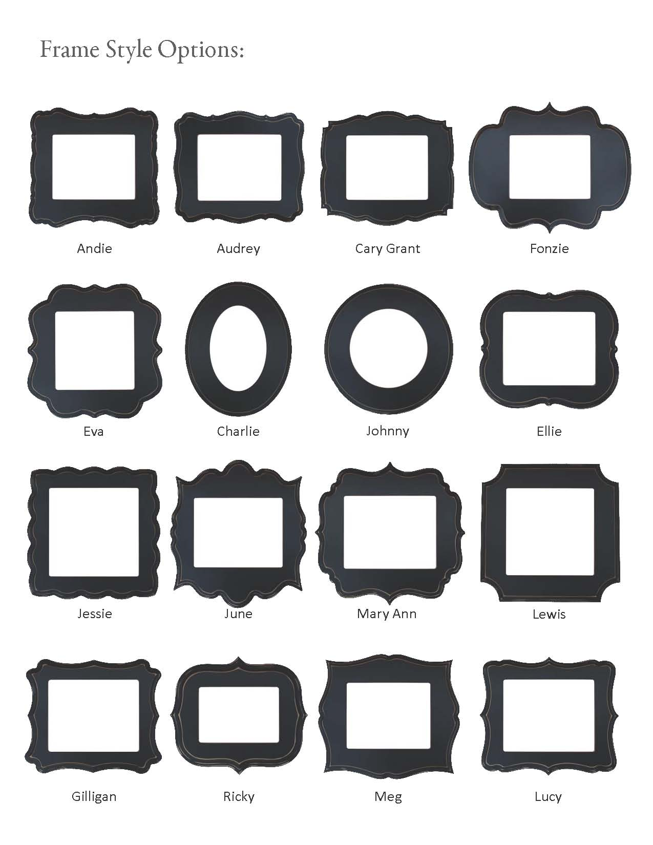 Drawn shapes picture frame Frame Cute org Hand Shapes