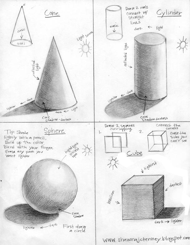 Drawn 3d art beginner A how draw 3D a