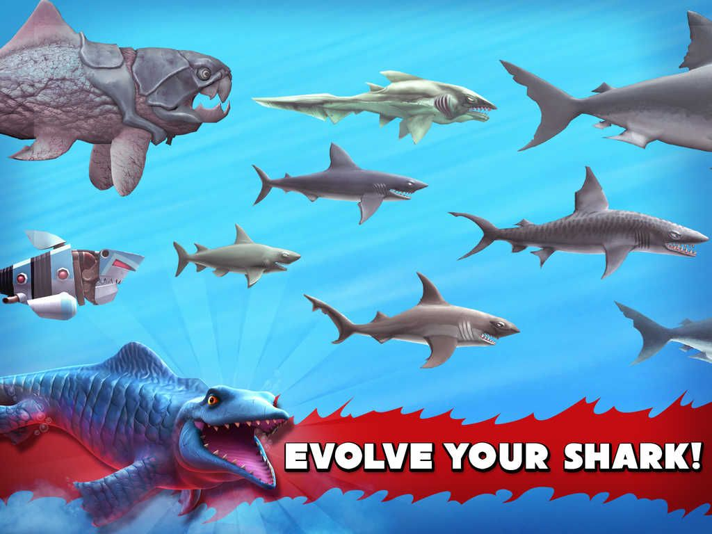 Drawn shark angry shark Shark Review Shark 2 Evolution