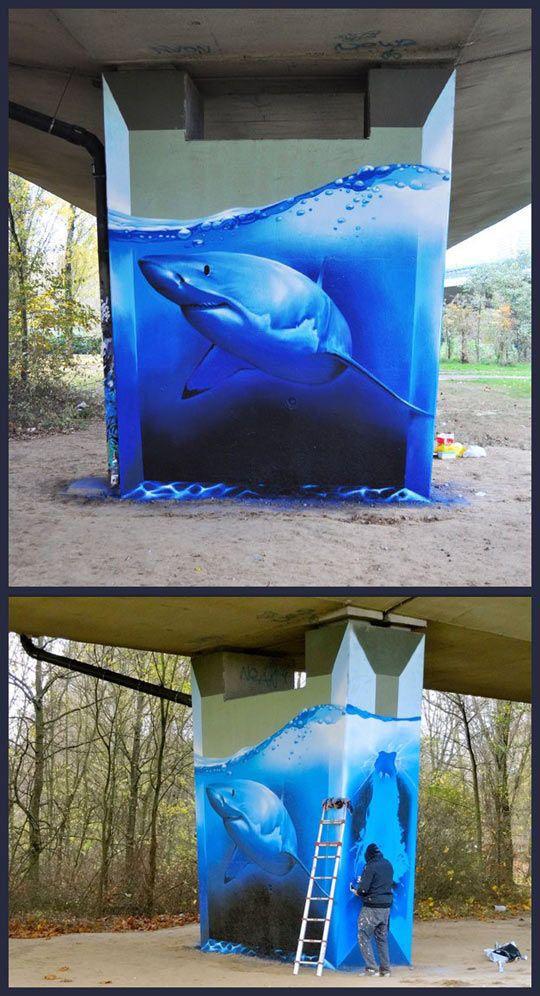 Drawn shark symbol Street on Pinterest 25+ Art