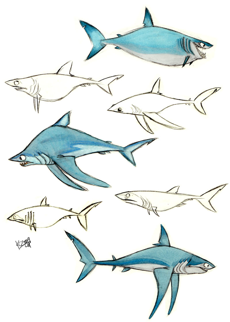Drawn shark mako shark Polarkeet by shark by Polarkeet