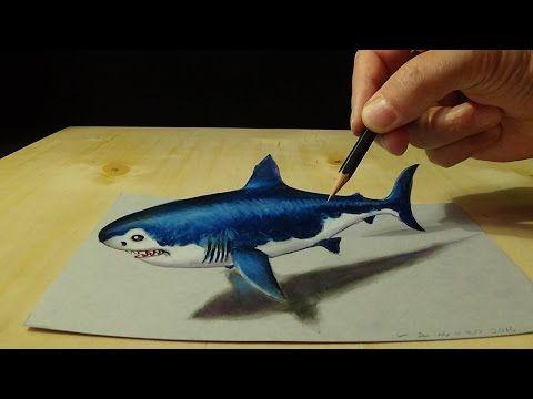 Drawn shark trick Megalodon Trick Shark ideas YouTube