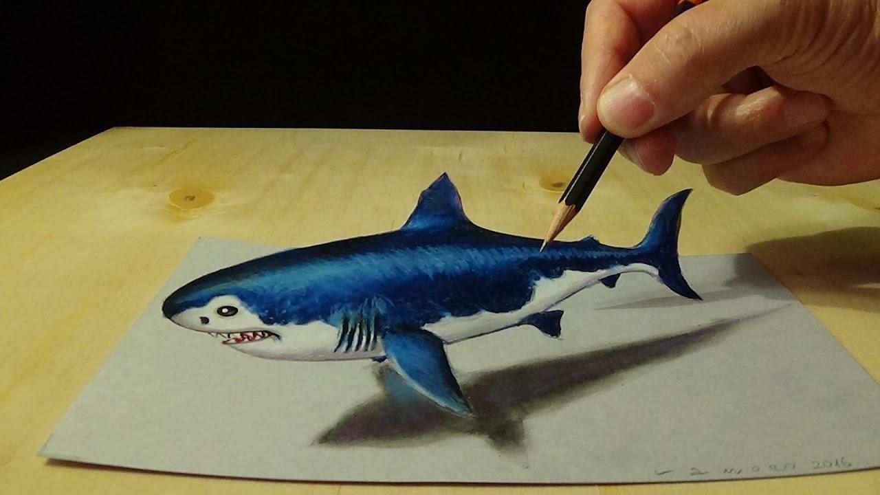Drawn shark vamos Art Drawing Megalodon Draw Draw