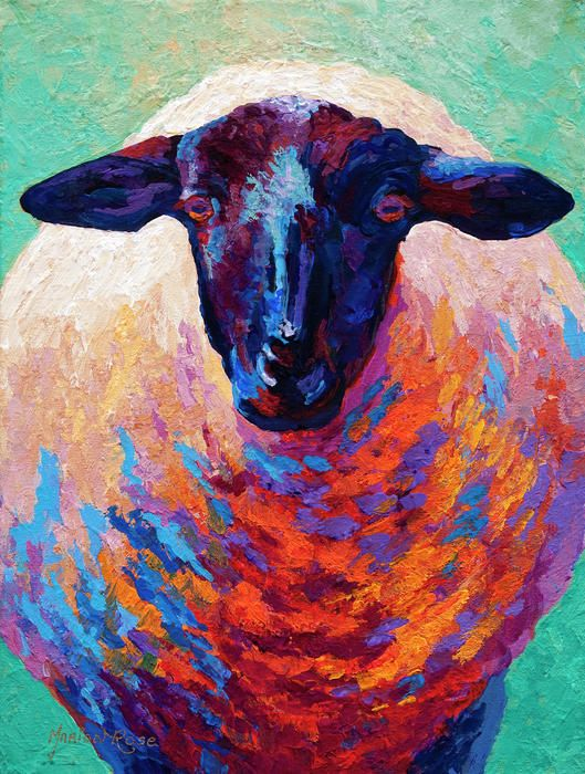Drawn sheep abstract Art Sheep Best Ewe Sheep