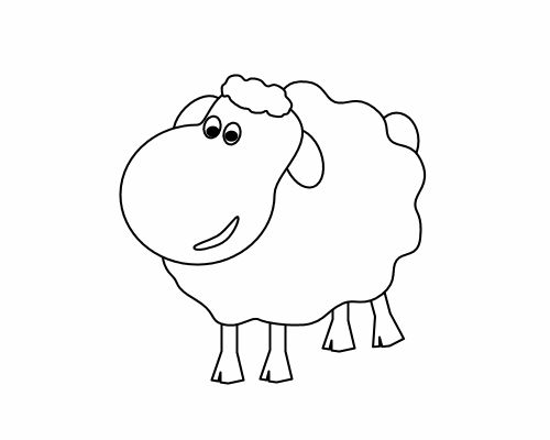 Drawn sheep clipart  chris Pinterest chris drawn