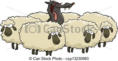 Drawn sheep herd sheep Herd in sheep Sheep Sheep